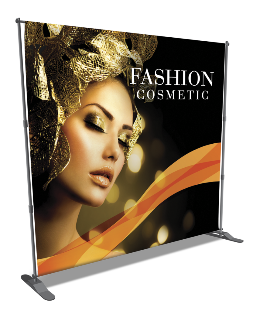 BACKDROP BANNER W/STAND
